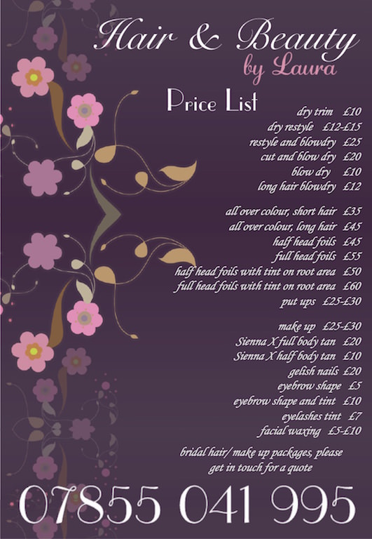Hair and Beauty by Laura, Cardigan - Wales